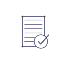 Assessment and checklist icon