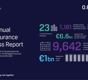 Insurance Operational Risk Loss Data Report 2021 front cover