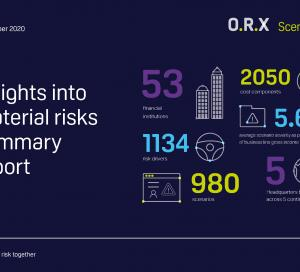 ORX Scenarios Insights into material risks 2020 front cover