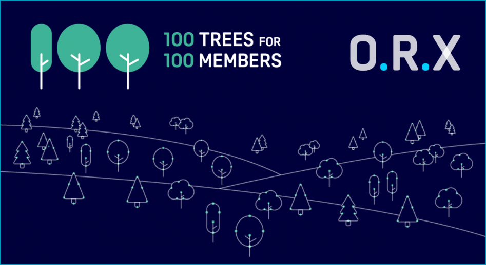 ORX plants 100 trees for 100th member