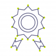 Rosette benefits icon